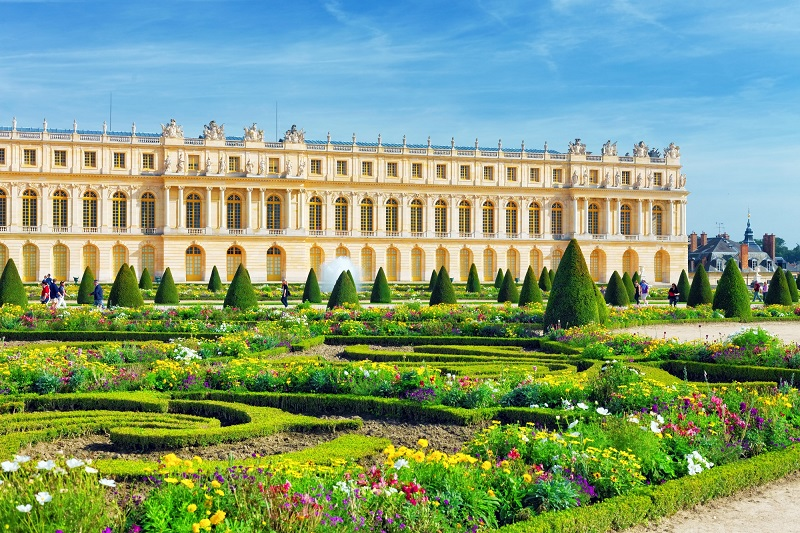 Versailles near Paris in France