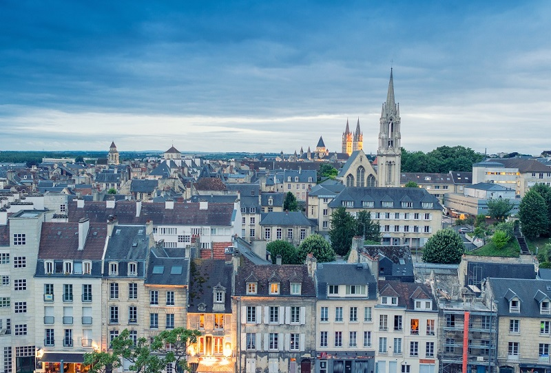 Caen, Normandy - France