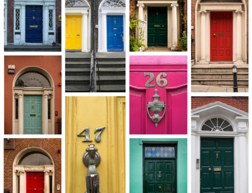 A Colourful Look at the Doors of Dublin