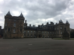 Palace at Holyrood