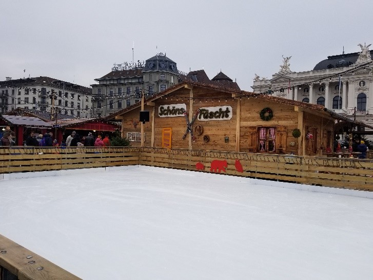 Wienachtsdorf-Christmas Market Ice Rink